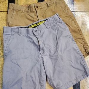 🤴🩳🩳 Lee & Faded Glory 2 pair of size 34 shorts